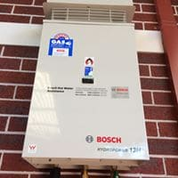 Bosh hot water system cost Perth installation